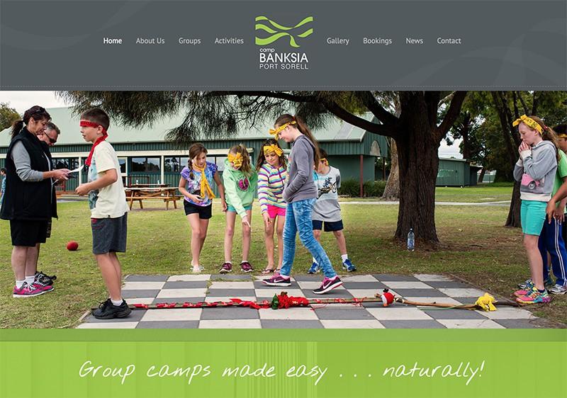 Camp Banksia Website launch